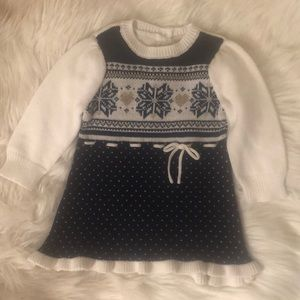 NWT GYMBOREE BABY GIRL KNIT WINTER SWEATER DRESS